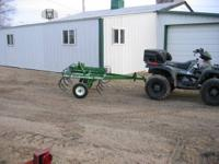 5 ft field cultivator--to be pulled behind a 4 wheeler