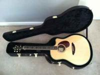 I'm selling my Breedlove AD25 SR Plus Acoustic/Electric