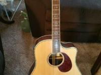 Breedlove Atlas Series acoustic electric guitar. Comes