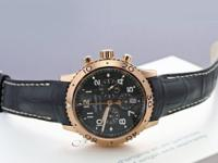 Polished 18kt rose gold case, with Breguet's signature