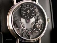 Pre-owned Breguet Tradition Skeleton Dial 18kt White