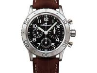 Flyback Chronograph. NO DATE. Luminous Hands & Arabic