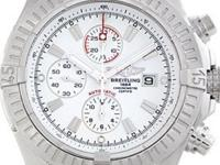 Case: Original Breitling stainless steel case 48.4 mm