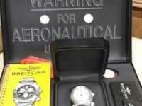 Rare - Breitling Aerospace Benefit Co-pilot Emergency