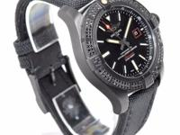 This is a Breitling, Avenger Blackbird 44 Black