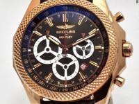 This Breitling for Bentley model is part of the Barnato