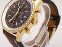 BREITLING NAVITIMER WORLD GMT K24322 Chronograph