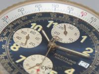 Breitling Old Navitimer Chronograph 18k Yellow Gold