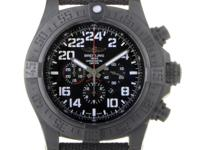 Dark, edgy and sporty, the Breitling Super Avenger