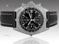 Features Chronograph Caseback Solid stainless steel