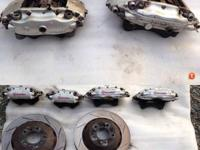 Brembo bbk front and rear end Brembo front and rear bbk