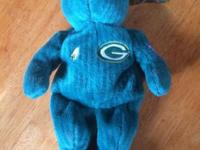 Brett farve beanie baby. Must pick up in Monroe or