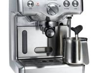 Here is a Great Two Year Old Breville Espresso Machine.