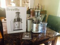Hi there. We have a Breville Juice Fountain Plus for