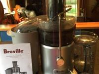 Breville Juice Fountain Plus, Model #RM-JE98XL Top of