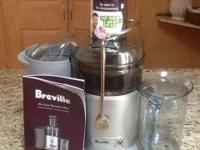 Breville Juice Fountain Plus. Model Number: JE98XL