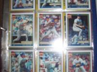 For sale is a collection of Brewer baseball card team