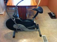 BRF body rider fan bike. Like brand-new condition. Paid