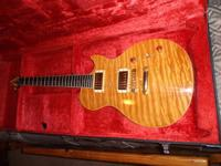extremely pretty and nice guitar.. Plays awesome, I