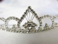 Bridal Rhinestone Crystal Prom Tiara Crown Gorgeous