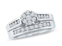 bridal set rings bought at zales for $700.00+tax and