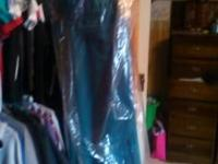 Brand new never worn teal size 14 alfred angelo
