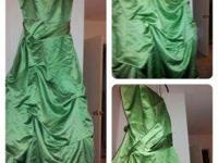 3 lengthy Bridesmaid gowns available for sale.  Clover