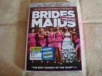 Selling the bridesmaids dvd+blu-ray+digital copy combo