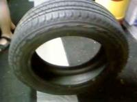 ONE SET OF BRIDGE STONE TIRES LIKE NEW 235-55-18 PLEASE