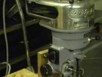 BUYER PAYS SHIPPING RECONDITION HEAD. 1 HP R8 SPINDLE