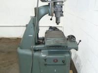 Bridgeport Milling Vertical Mill Machine M Head High