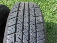 WE HAVE 2 BRIDGESTONE B420 TIRES. THERE 205/75R15 WITH