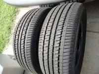2 Bridgestone Insignia SE 225-60-16 tires, like new,