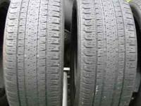 Bridgestone 235/55/18 - pair of 2 tires Dueller H/L
