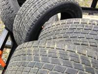 4 Used WS-50 Bridgestone Blizzaks 225/55 16. Bit over