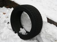 Set of 4 Blizzak Snow tires 245/45 R18 LM60. Used for 2