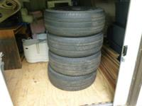 4 bridgestone tires used p275/55r20 $ 60.00 each or set