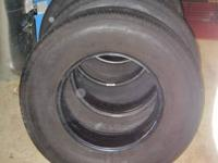 Bridgestone V-Steel RIB 265 (4) Tires with 5000 miles