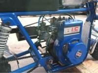 briggs 5hp i/c dual ball bearing motor that has the