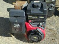 Used Briggs and Stratton 10hp OHV horizontal shaft