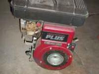 Selling briggs and stratton 5hp engine, ran when