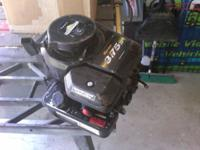 This is a used Briggs and Stratton 3.75 HP mower