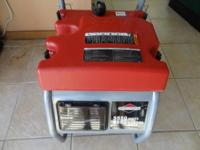 FOR SALE IS A LIKE NEW BRIGGS & STRATON 5550 CONTINUOUS