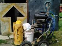 Briggs & Stratton quantum 4 hp Line painter &