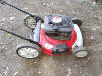 Im selling a Huskee supreme 6.5 HP with a 21 inch cut