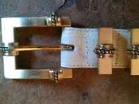 Brighton Belt * Like New* $5 * Buckle Edge to End