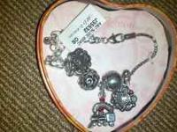 I have a brighton charm bracelet for sale.asking$ 30