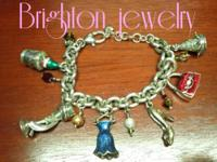 Brighton charm bracelet, never worn, in excellent