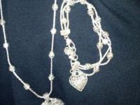 Beautiful Brighton Necklace and Bracelet hardly worn.