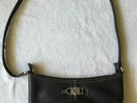Brighton Small Black Leather Handbag. Very cute bag. My